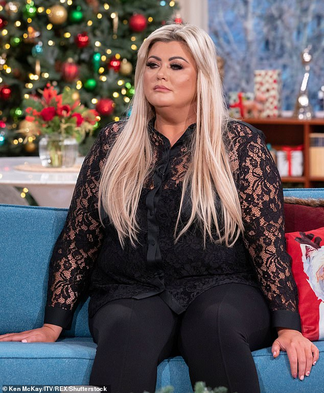 Tragedy:Gemma Collins has revealed she suffered a third devastating miscarriage in July (pictured 2019)