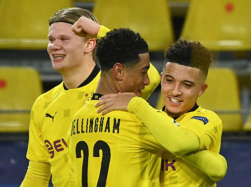 © Reuters. Champions League - Group F - Borussia Dortmund v Club Brugge