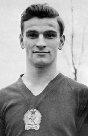 Sándor Kocsis, pictured in October 1956.