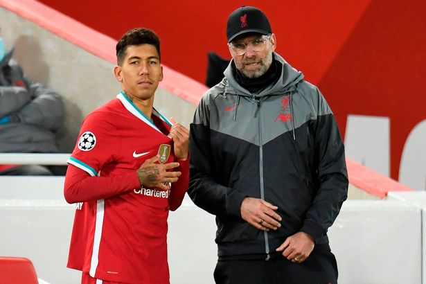 Jurgen Klopp has defended Roberto Firmino and expects him to be back to his best soon