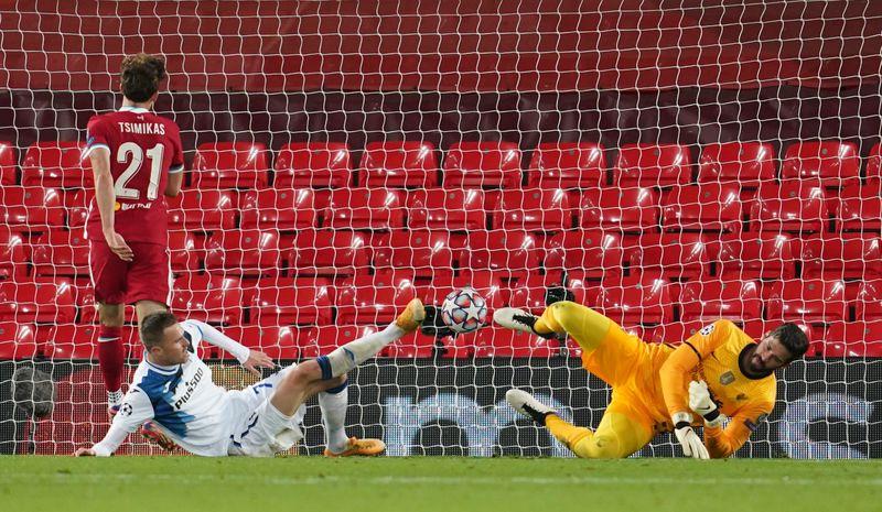 © Reuters. Champions League - Group D - Liverpool v Atalanta