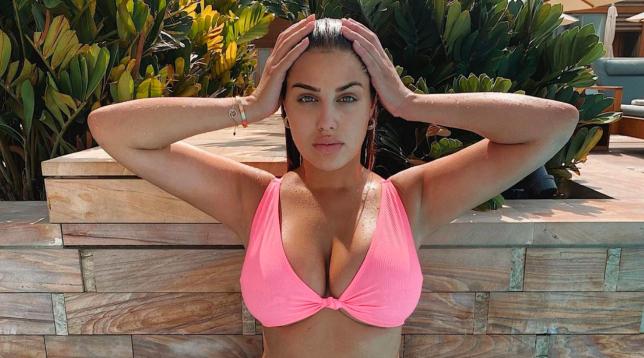 Anna Vakili in a bikini