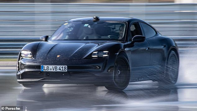 Porsche has broken the Guinness World Record for the longest drift of an electric vehicle