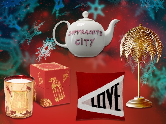Christmas gift guide for homeware