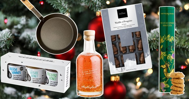 Christmas gift guide - food and drink comp
