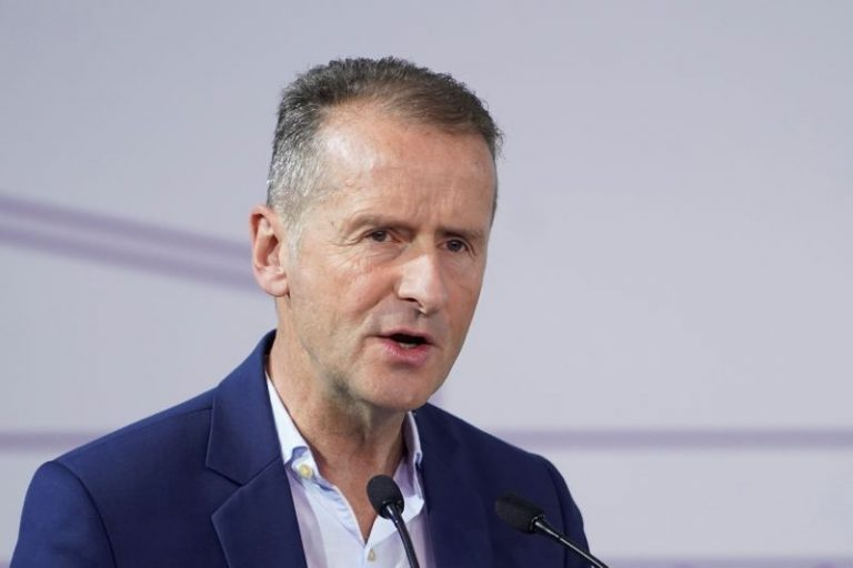 Volkswagen CEO says will tweak strategy to maintain electric, autonomous push