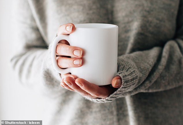Volunteers who drank a cup of regular coffee were able to resist the urge to compulsively clean themselves for twice as long as their caffeine-free counterparts after touching an apparently dirty object, researchers found