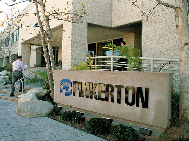 Lisa Levandowski, a spokesperson for Amazon, confirmed to Motherboard that it had hired Pinkerton to gather intelligence on its workers. Pinkerton, which was founded in the US in 1850, has a decades-long record of infiltrating labor unions to thwart strikes (file photo)