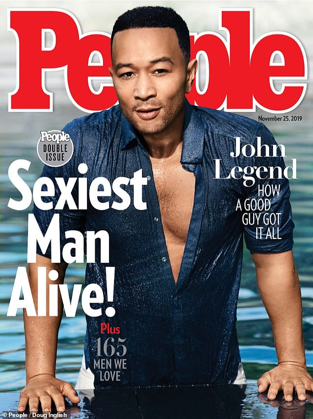 Remember when:John Legend was officially given the title on November 13 last year