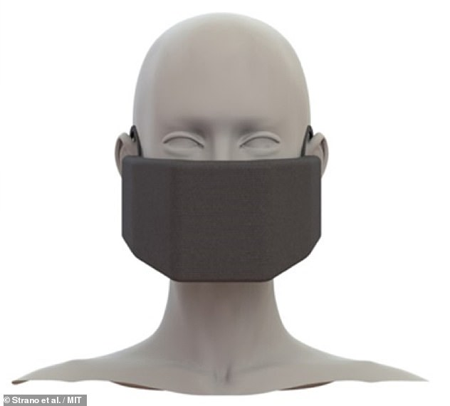 If commercialised, the MIT battery-powered device (pictured) would likely be more expensive than a cloth mask, surgical mask or an N95 respirator, the researchers said