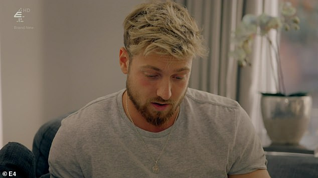 Calling time? It seems Sam has made his mind up about the future of his romance with Zara