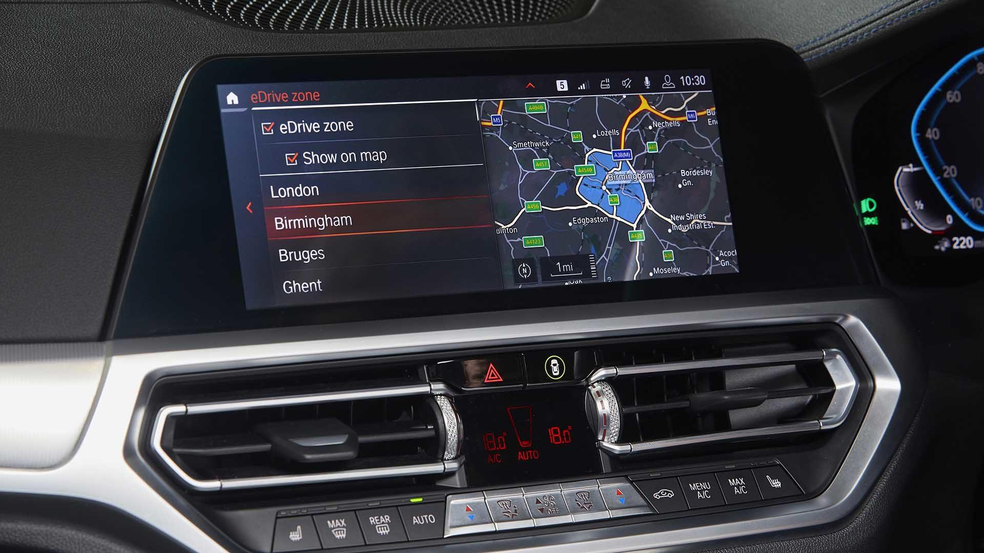 BMW eDrive tech