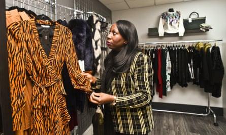Mandy Errington, owner of DJV Boutique.