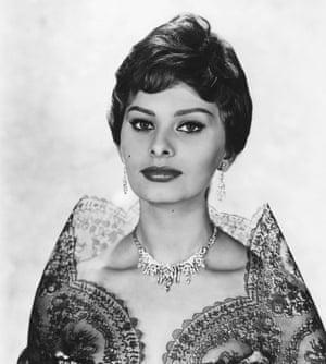 Sophia Loren in 1950.