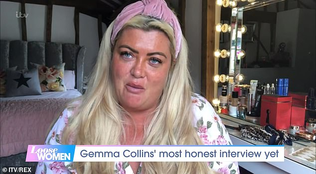 Sad news:In August Gemma revealed she suffered a miscarriage during lockdown