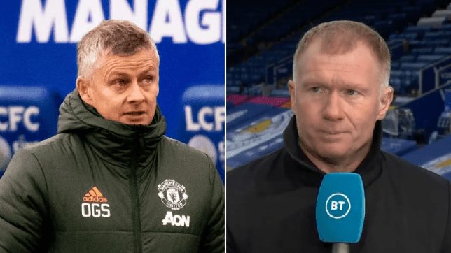 Paul Scholes unimpressed by Manchester United's right-back experiment