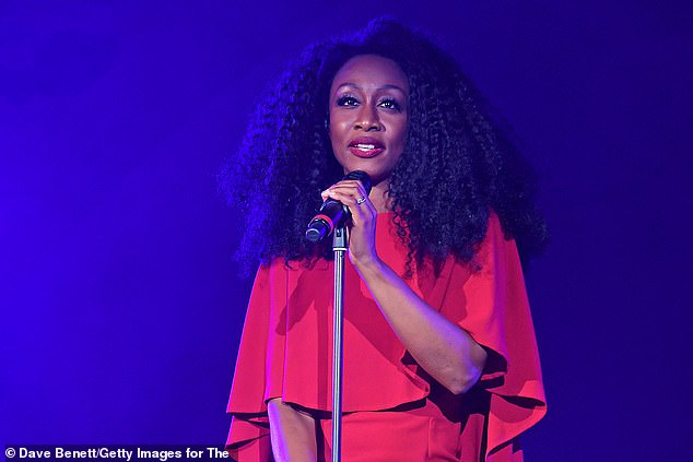 Devastated:Beverley Knight has paid an emotional tribute to close friend and long-term musical director Paul Reid following his sudden death on Christmas Day