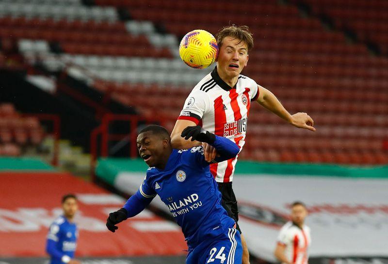 © Reuters. Premier League - Sheffield United v Leicester City