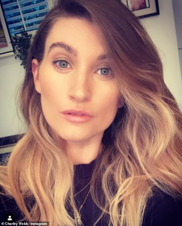 'Anger':Charley Webb has explained her 'anger' over Jesy Nelson leaving Little Mix after she shared an emotional reaction video to the news earlier this month (pictured in March)