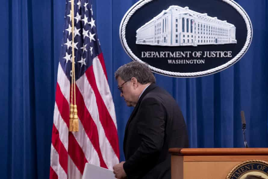 Attorney General William Barr said at his last press conference on Monday he had no intention of naming a special counsel to look into Hunter Biden.
