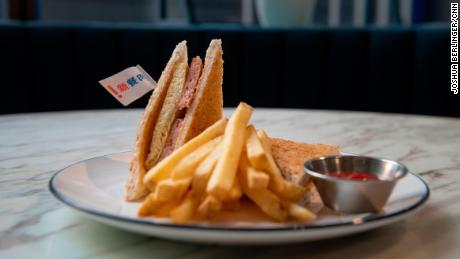 Spam is an iconic ingredient in Hong Kong cuisine, served in sandwiches, with noodles and eggs.