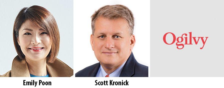 Emily Poon and Scott Kronick, Ogilvy