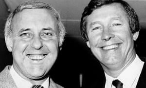 Jim McLean of Dundee United (left) and Aberdeen's Alex Ferguson, managers of the so-called New Firm in the mid-80s.