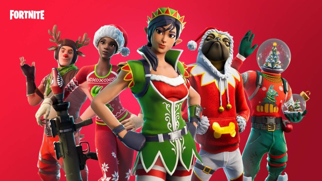 Fortnite Epic Games Christmas