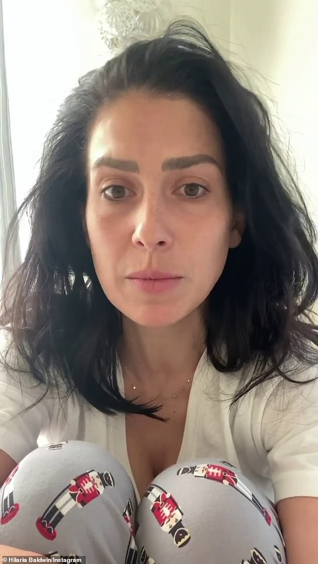 'Yes, I am a white girl. I am a white girl': After a slew of accusations she 'faked' her Spanish heritage, Hilaria Baldwin confessed Sunday that her real name is Hillary and she was actually born in Boston not Majorca