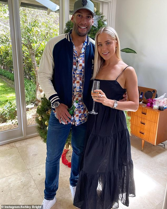 New romance: On Saturday, former AFL star Josh Gibson revealed he's found love once again, as he debuted his new romance with glamorous blonde Ashley Brighton Instagram