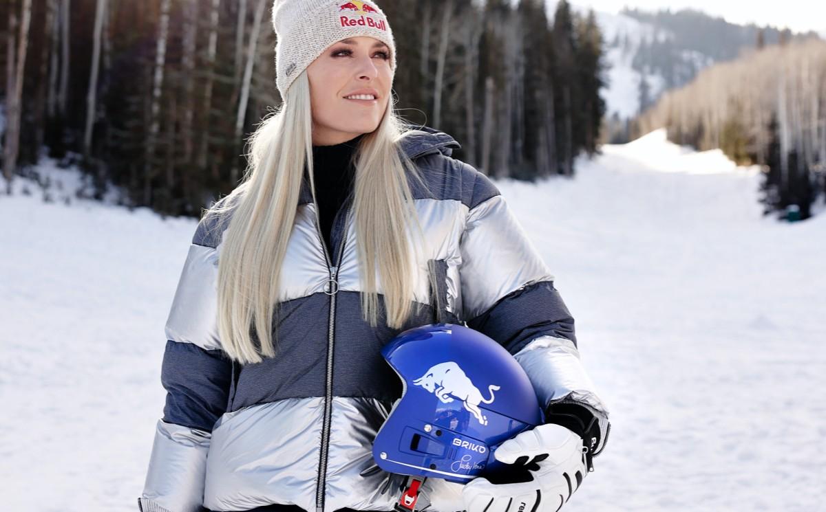 Lindsey Vonn launches ski helmet