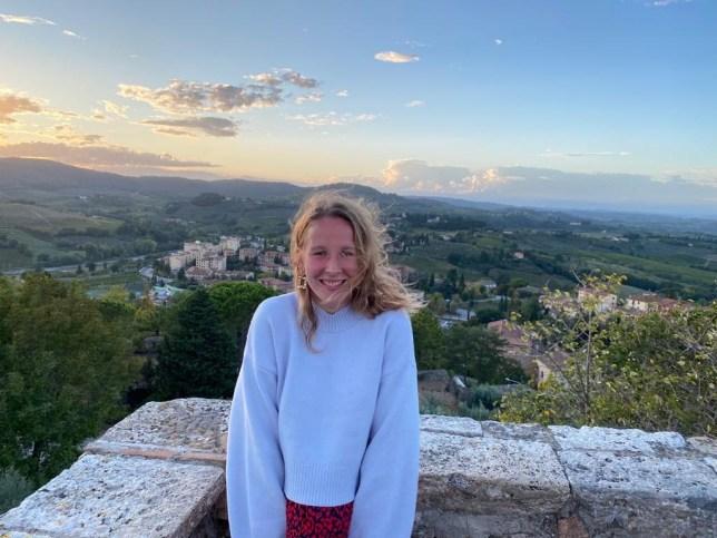Lydia in Italy