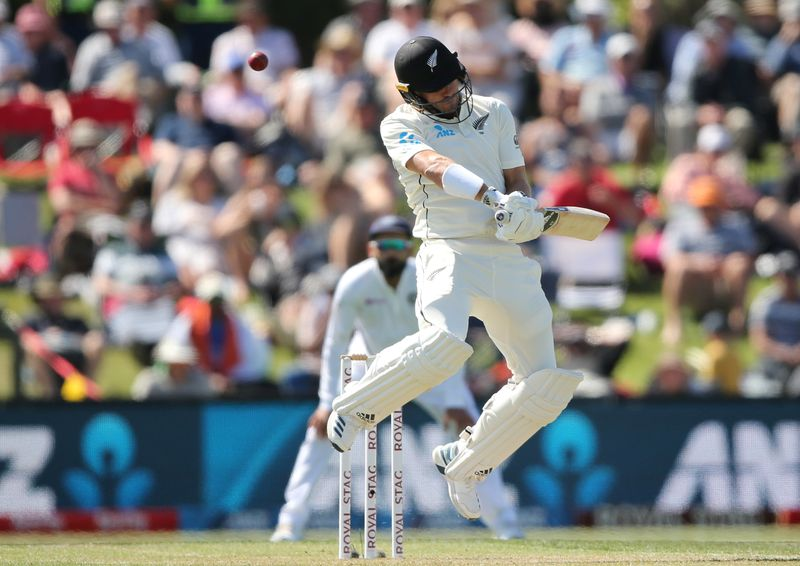 © Reuters. New Zealand v India - Second Test