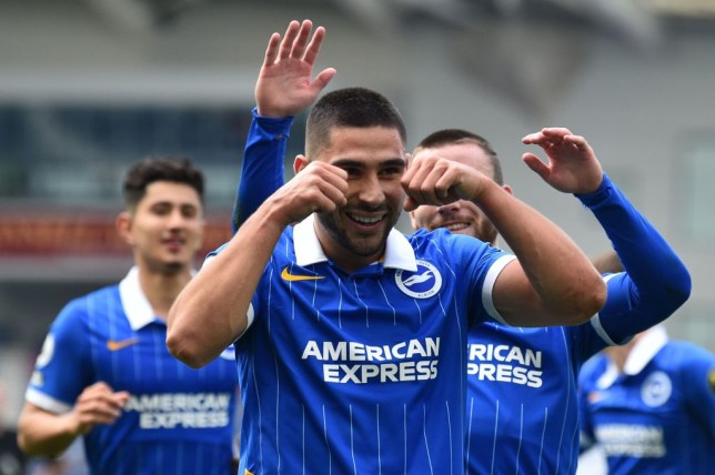 Neal Maupay scored Brighton's winning goals in both of their victories over Arsenal last season