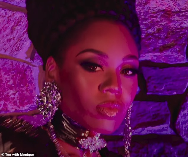 HaZel: Real Housewives of Potomac's Monique Samuels, 37, announced her departure from the show over the weekend and is now pursuing a rap career under the name HaZel as she debuts music video for new single Drag Queens