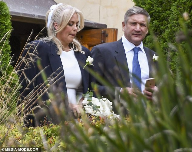 Here comes the bride! Sunrise host Samantha Armytage has married her millionaire fiancé Richard Lavenderin an intimate Southern Highlands wedding on New Year's Eve