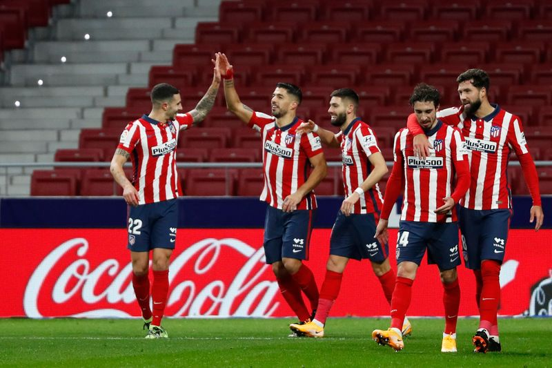 © Reuters. La Liga Santander - Atletico Madrid v Getafe