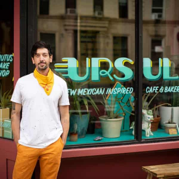 Eric See outside his Brooklyn restaurant Ursula, named after his grandmother.