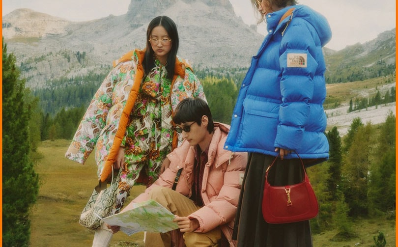 Video: Gucci unveils its collection with The North Face