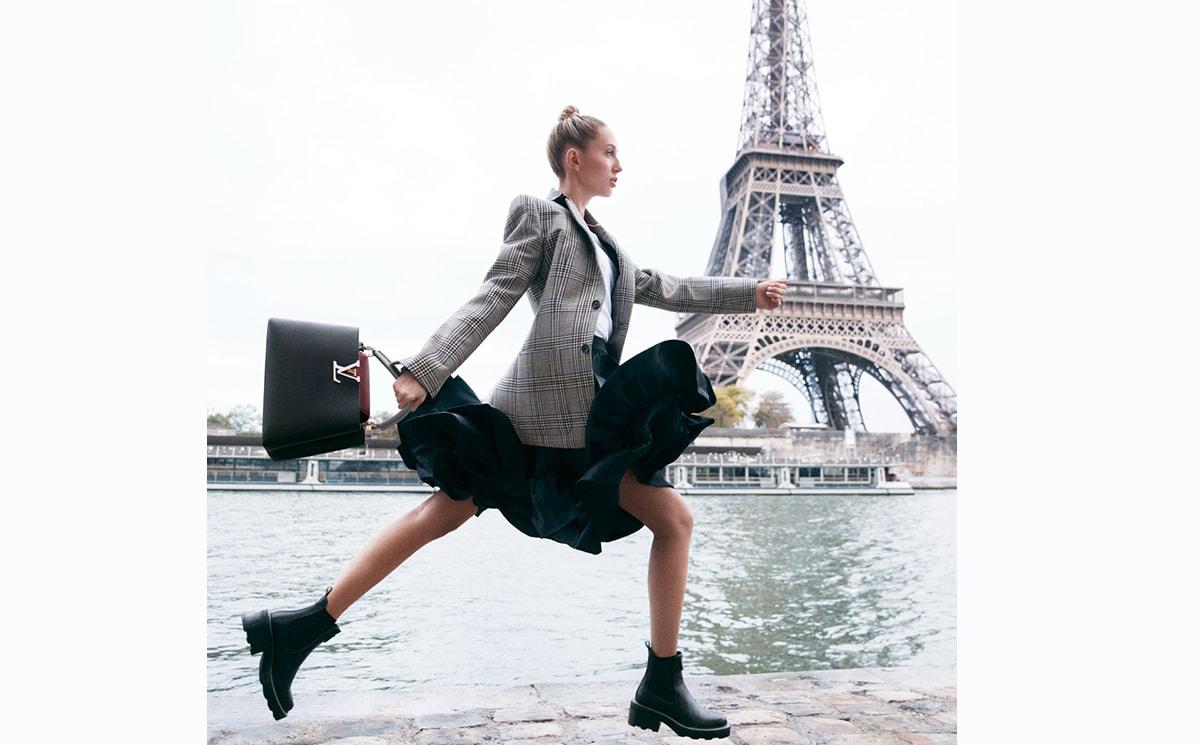 Video: Loic Prigent visits Louis Vuitton's flagship store in Paris