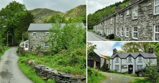 Welsh village with 16 homes for sale
