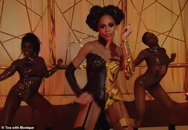 Work: The video features a dance number with famous drag queens Iyana Deschanel and Brooklyn Heights