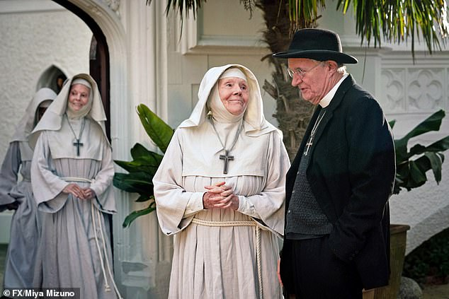 Jim Broadbent has a cameo too, playing a priest feigning a fever to get out of the posting