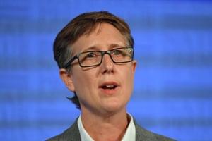 Australian Council of Trade Unions secretary Sally McManus.