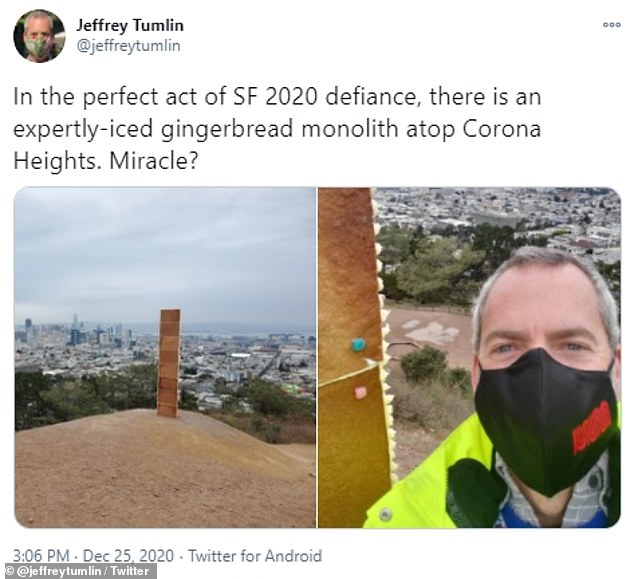 Jeffrey Tumlin, director of the San Francisco Municipal Transportation Agency, called the gingerbread tower 'the perfect act of SF defiance.'
