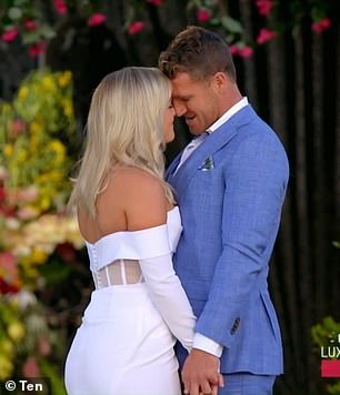Short-lived love: Elly chose Frazer as her winner during this year's finale of The Bachelorette