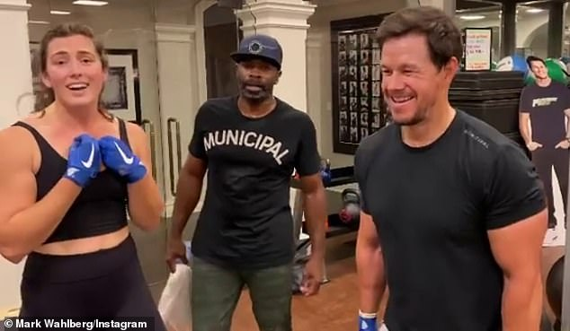 Not the first time: Wahlberg posted a similar video on Thanksgiving day and listed what he was grateful for mid-workout