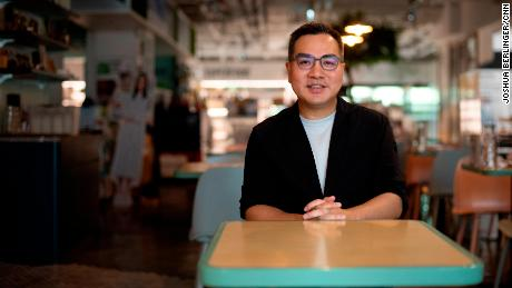 David Yeung, the CEO of Green Monday Group.