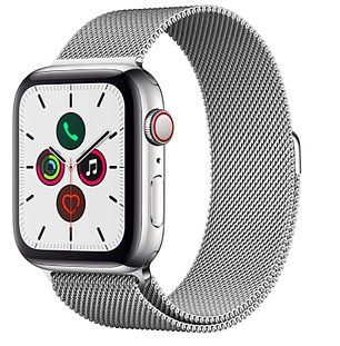 The Apple Watch Series 5 in stainless steel with 44mm display is now reduced to £541.49