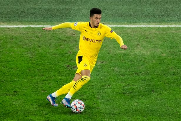 Sancho's main position for Dortmund and England is on the right wing